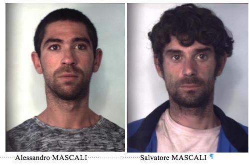 Catania, arrestati due fratelli trovati con la cocaina