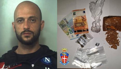 Catania, riforniva di eroina la piazza di San Giovanni Galerno: arrestato