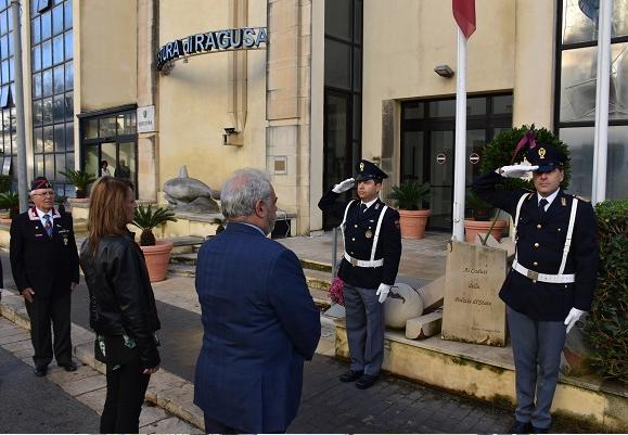 Ragusa, ricordati in Questura i poliziotti caduti in servizio