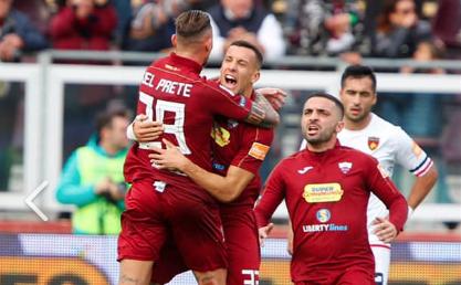Il Trapani non riesce a vincere al 'Provinciale' finisce 2 - 2 contro il Cosenza