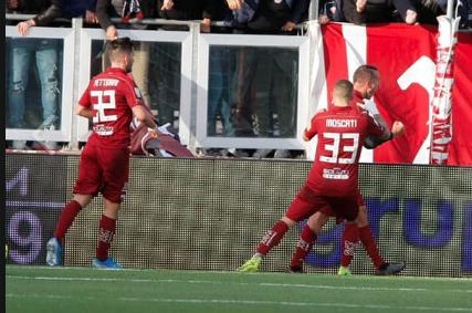 Colpaccio del Trapani al 'Provinciale': battuto il Chievo Verona con un gol di Evacuo
