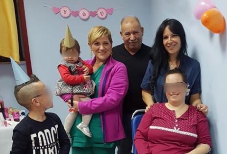 Party all' Ortopedia del Garibaldi  di Catania per primo compleanno figlia
