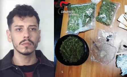 Chiamati per una lite, trovano la droga: arrestato un siracusano a Catania