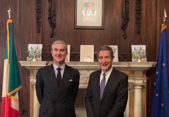 Il presidente della Regione a New York , Musumeci incontra console italiano