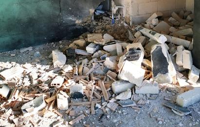 Fatta esplodere una bomba negli spogliatoi di un nuovo campo sportivo nel Barese