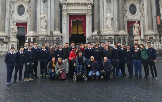 Catania, viaggio nei percorsi agatini degli gli studenti del 'Duca degli Abruzzi'