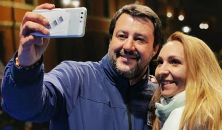 Salvini a Palermo per  incontrare Musumeci: poi convention della Lega