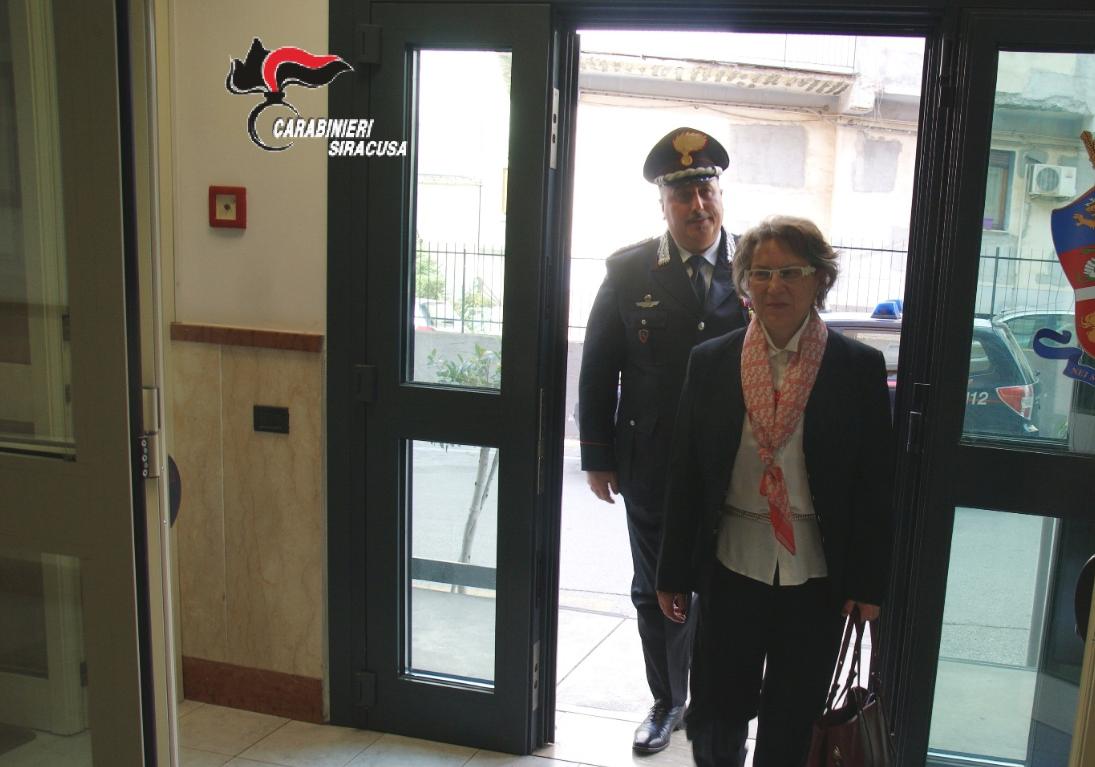 Il prefetto di Siracusa fa visita al Comando dei carabinieri