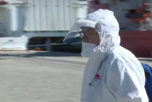 Sbarcati 276 migranti a Pozzallo, 5 in ospedale: uno ha la tubercolosi
