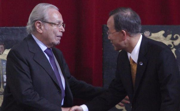 E' morto l'ex segretario generale dell'Onu Javier Perez de Cuellar