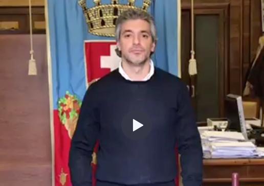 Videomessaggio del sindaco di Avola Cannata: sosteniamo i nostri prodotti