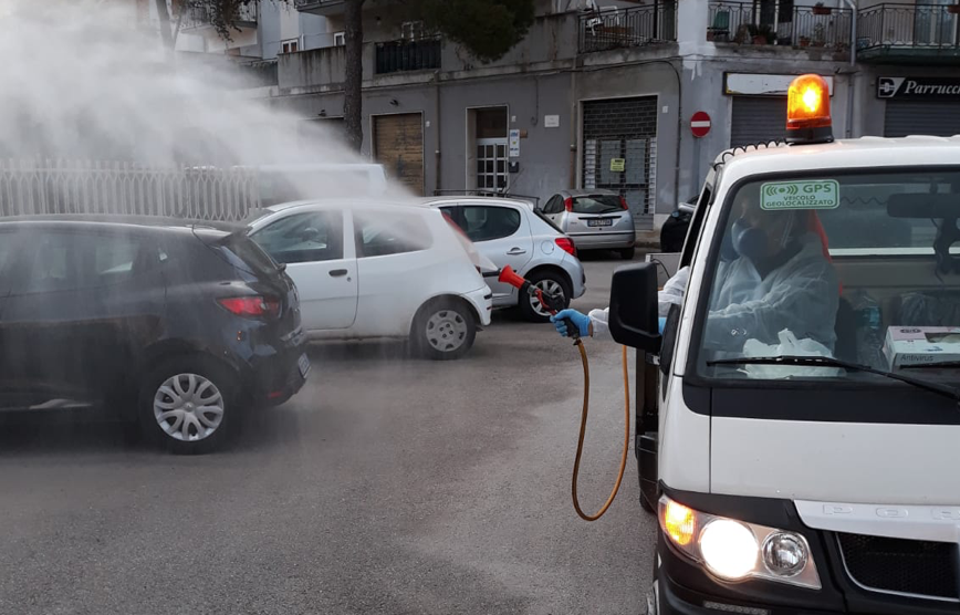 Non si ferma la sanificazione delle strade a Siracusa, l'assessore: noi apri pista