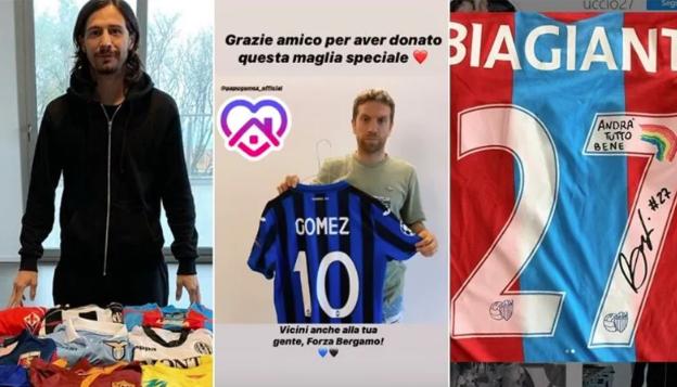 Beneficienza, Papu mette all'asta maglia Manchester City: il capitano del Catania gli dice grazie