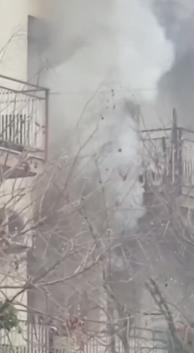 Incendio a Palermo, evacuato un palazzo di sette piani