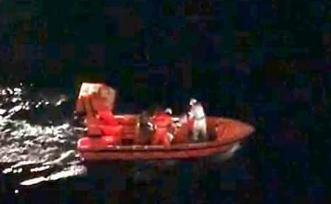 Marittimo cade in mare nel traghetto Palermo - Napoli: recuperato vivo