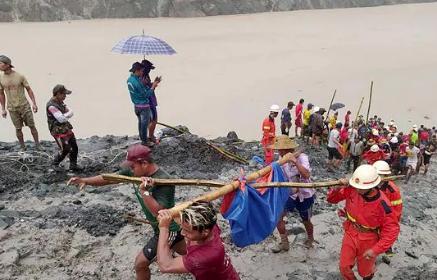 Myanmar, frana nella miniera di giada: oltre 160 morti in Birmania