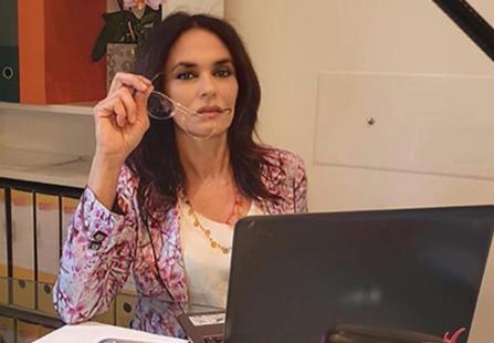 """Maria Grazia Cucinotta a Ischia : """"Il cinema non si ferma ed io torno sul set"""""""