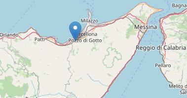Scossa di terremoto  di magnitudo 3.4 a  sud di Terme Vigliatore