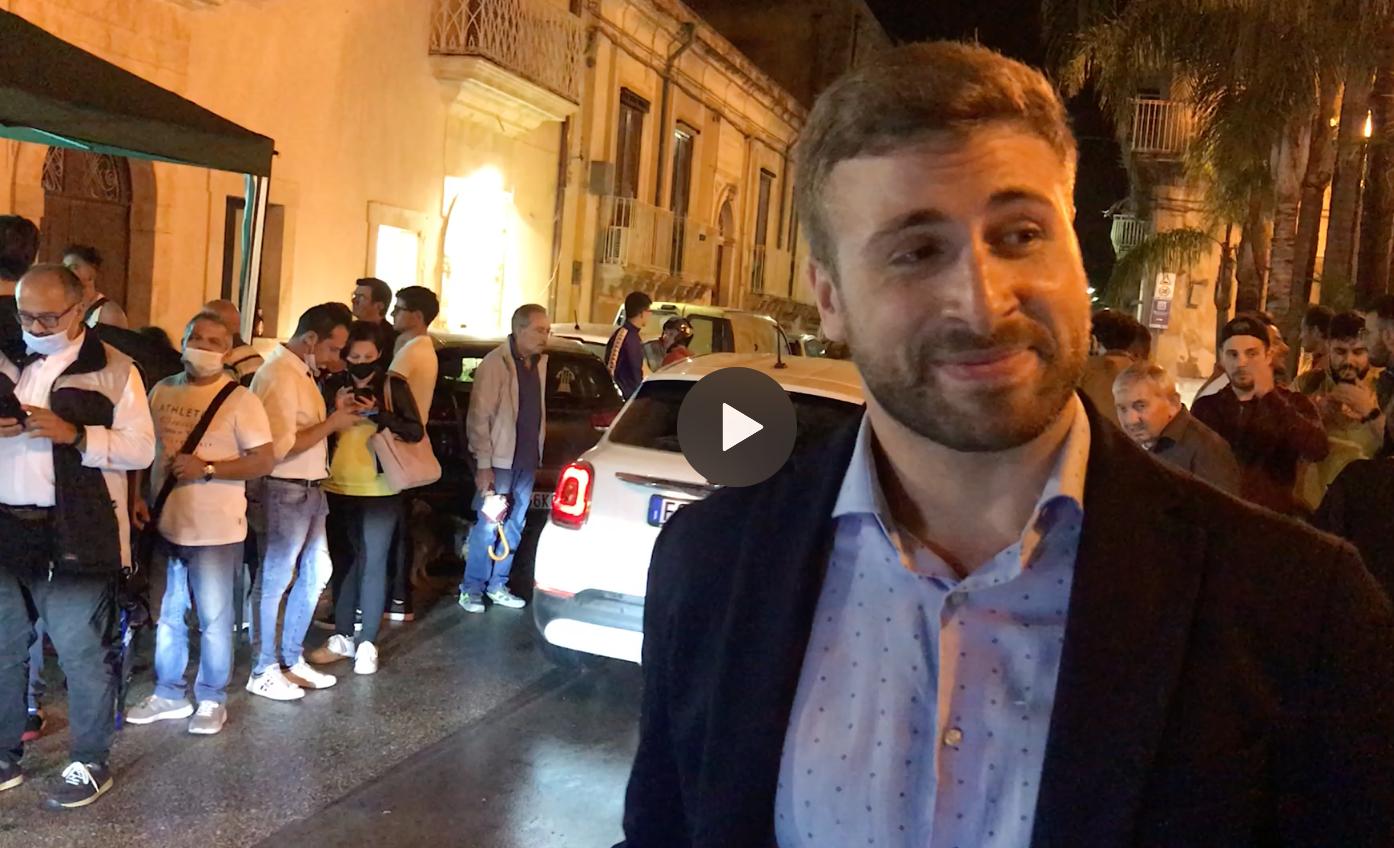 Ballottaggio a Floridia, Carianni: Alleanze? non ne ho mai parlato (video intervista)