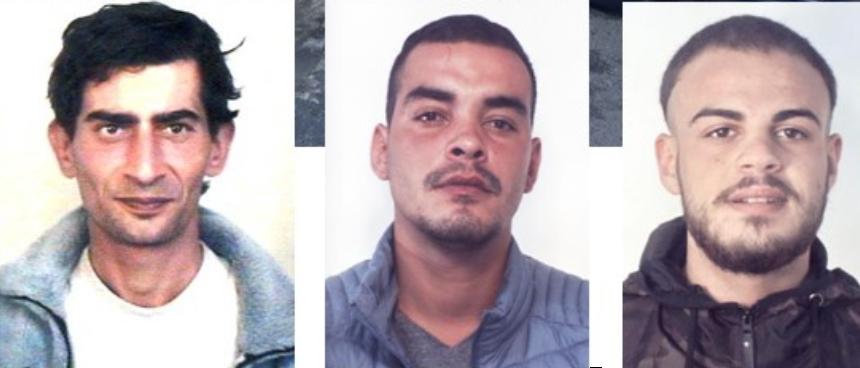 Controllo del territorio, tre persone finiscono in carcere a Catania