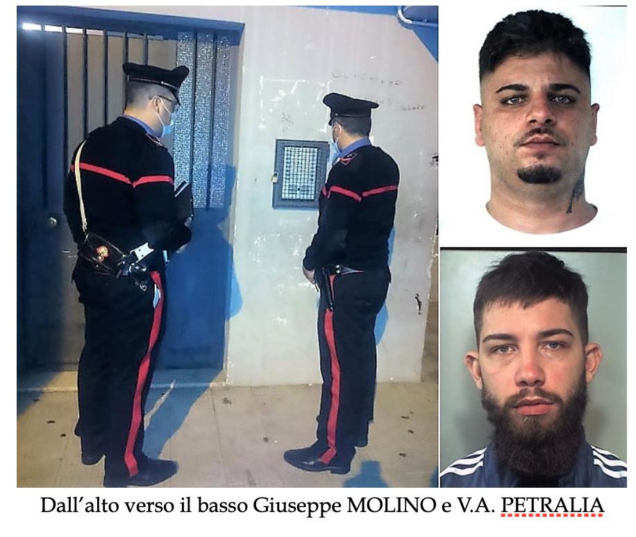 Catania, due arresti: uno per furto l'altro per evasione