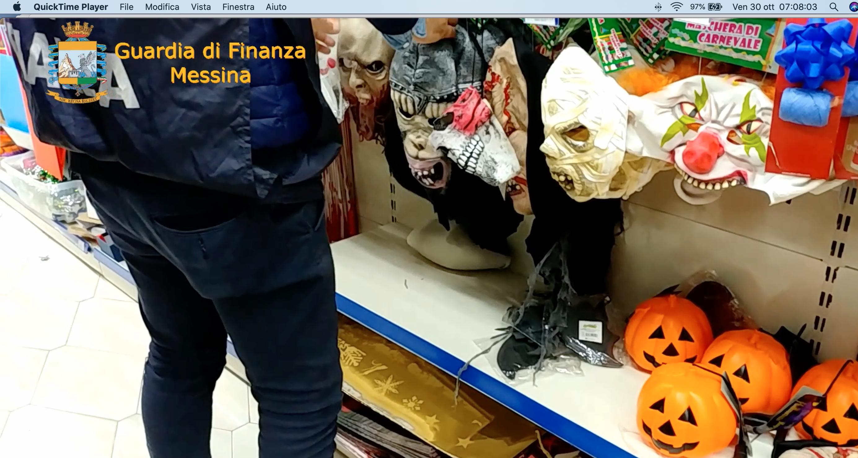 Sequestrati a Messina 145 mila prodotti non a norma: 6 lavoravano in 'nero'