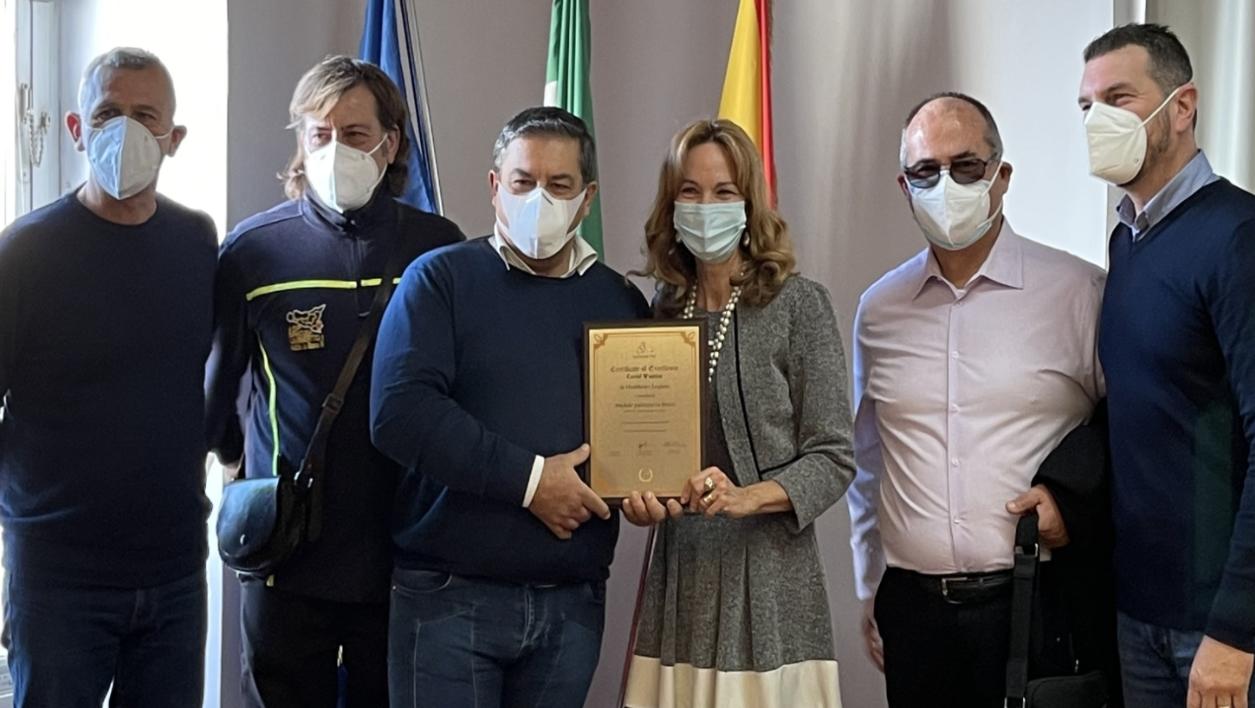 """Asp di Siracusa, la lotta al virus premio """"Covid Warrior 2020"""" a Fabrizio Lo Presti"""