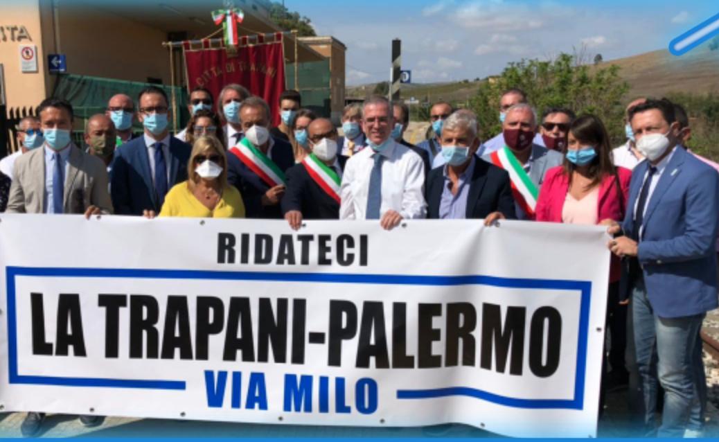 Falcone: verrà ripristinata tratta ferroviaria Palermo - Trapani