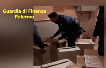 Cinquecento stecche di sigarette di contrabbando: arresto a Palermo