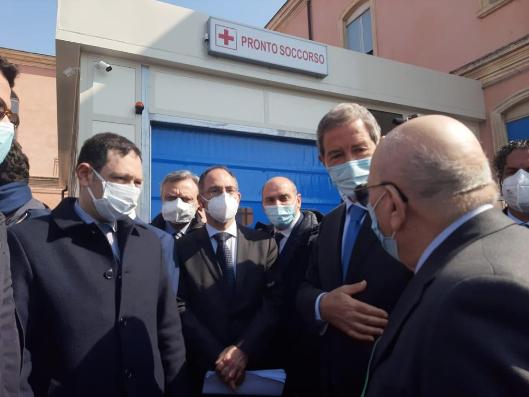 Musumeci inaugura il nuovo Pronto soccorso di Bronte