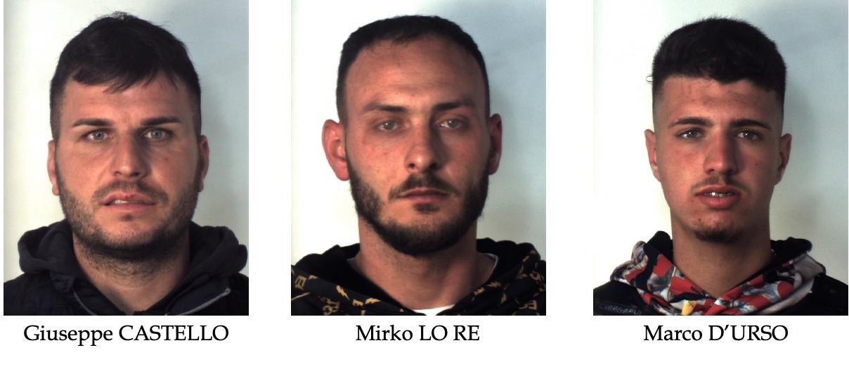 Catania, arrestati  tre ladri di auto in via Palermo