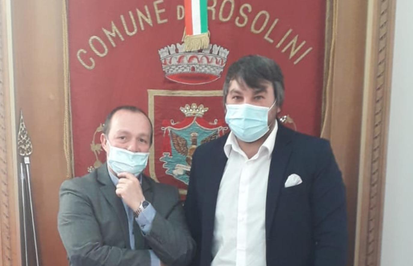 """Rosolini, Spadola incontra il Commissario: """"In arrivo i buoni spesa"""""""