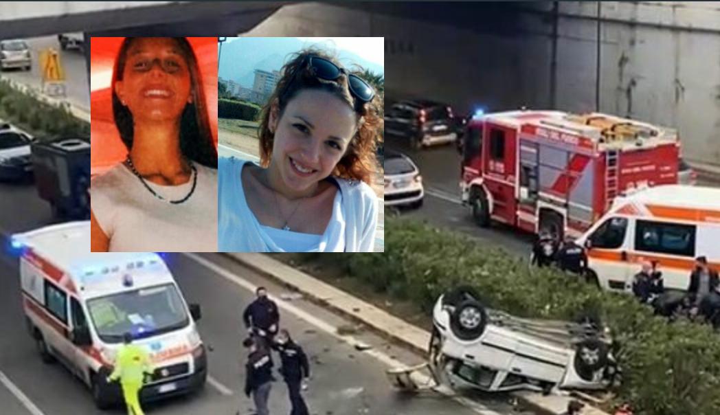 L'incidente stradale in viale della Regione a Palermo: ora sono 2 le ragazze morte