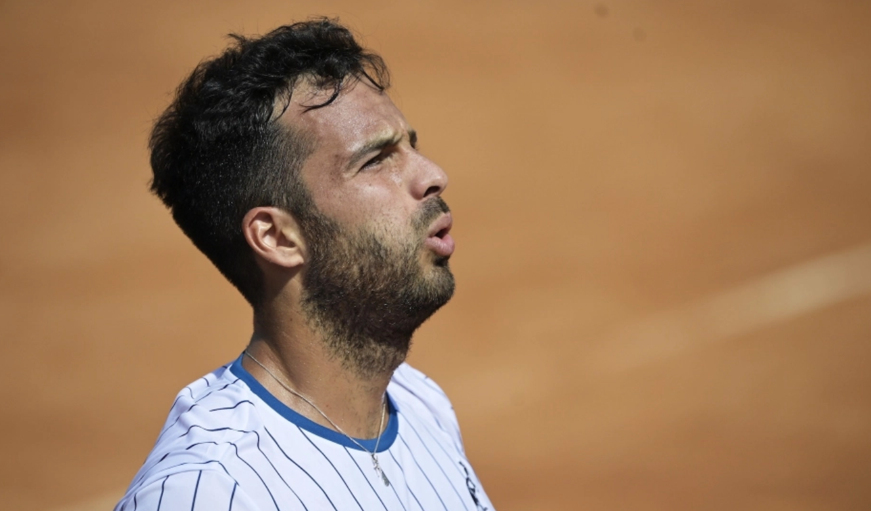 Internazionali di tennis, l'avolese Caruso è fuori: battuto dal belga Goffin in due set