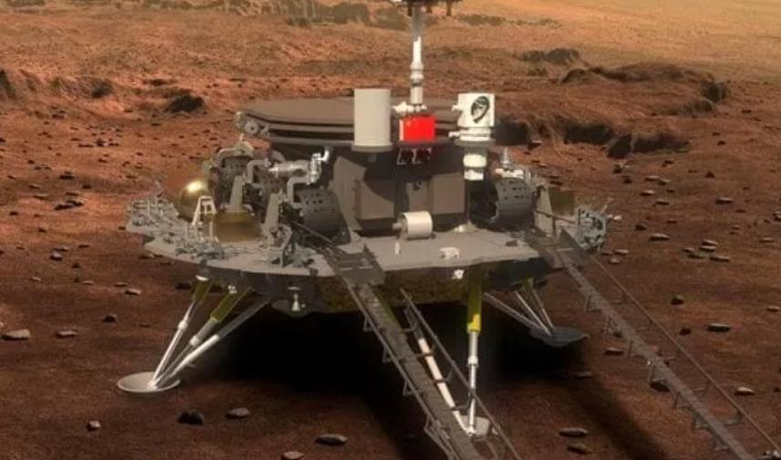Atterrato su Marte il rover cinese Zhurong