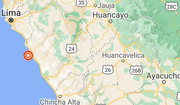 Scossa di terremoto in Perù di magnitudo 5.8 a largo di Lima