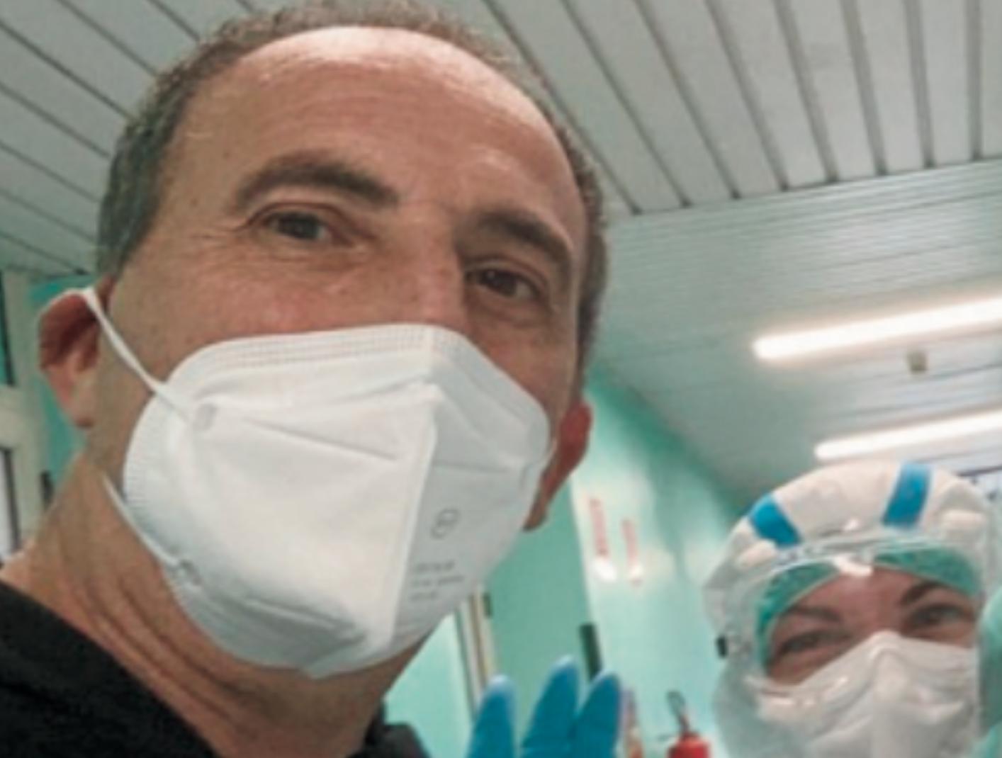 Ragusa, Nello Dipasquale in ospedale in Sardegna contagiato dal covid