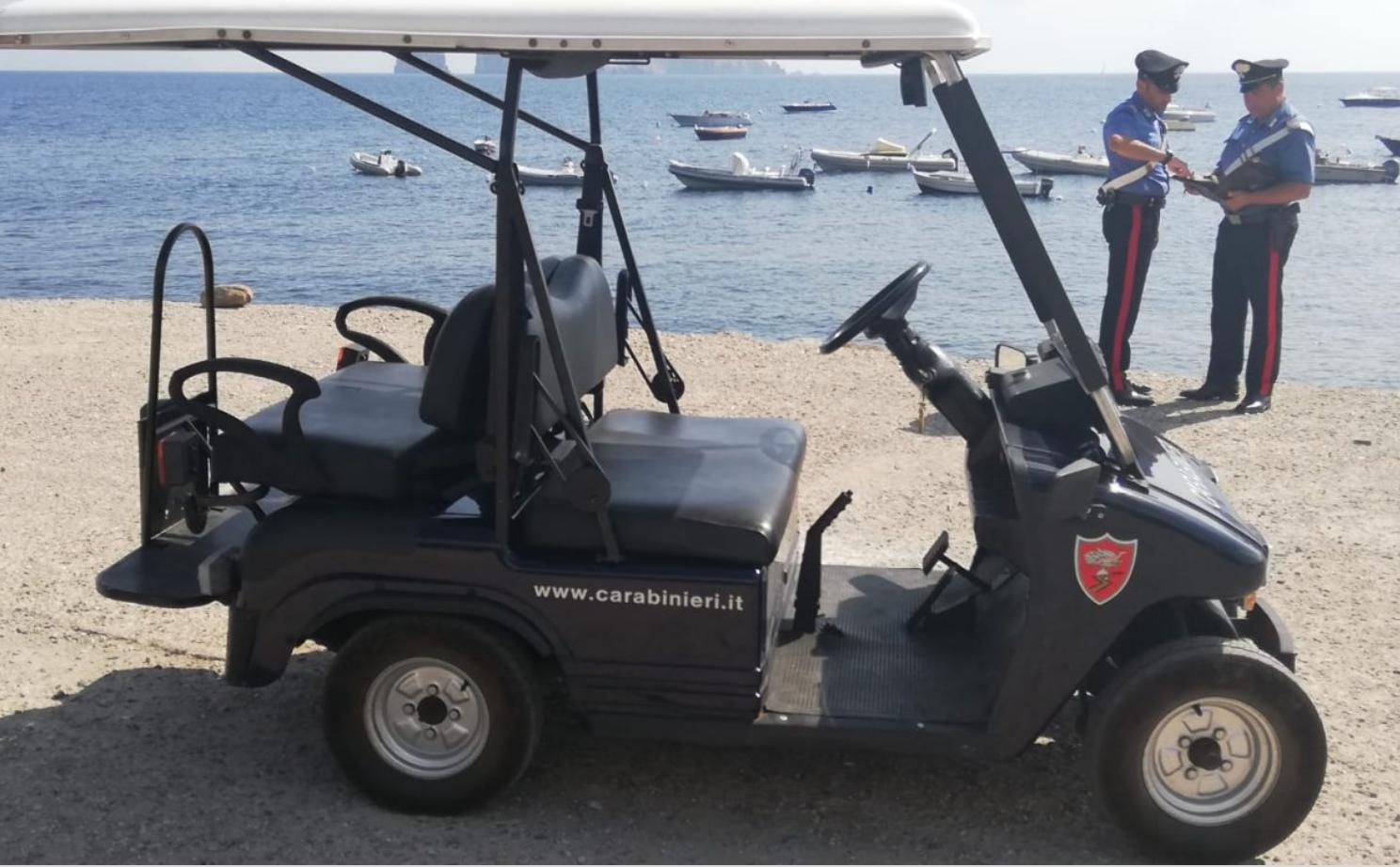 Rissa a Stromboli tra giovani. quattro Daspo per turisti