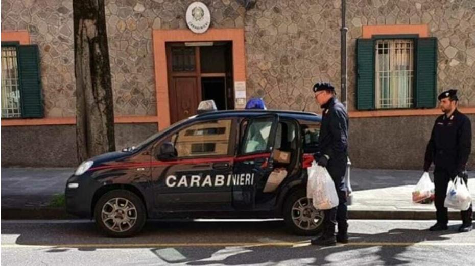 Famiglia isolata per covid a Porto Empedocle: carabinieri fanno la spesa