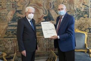 """Mattarella nomina Pippo Baudo Cavaliere di Gran Croce: """"E' unico"""""""