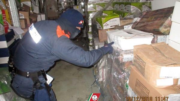 Quattromila chili di prodotti ittici sequestrati dalla Capitaneria a Sciacca