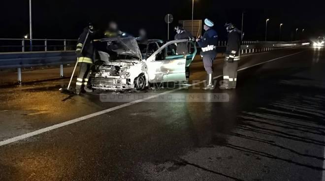 Scontro tra due auto a Siracusa, un morto e due  feriti a Cozzo Villa
