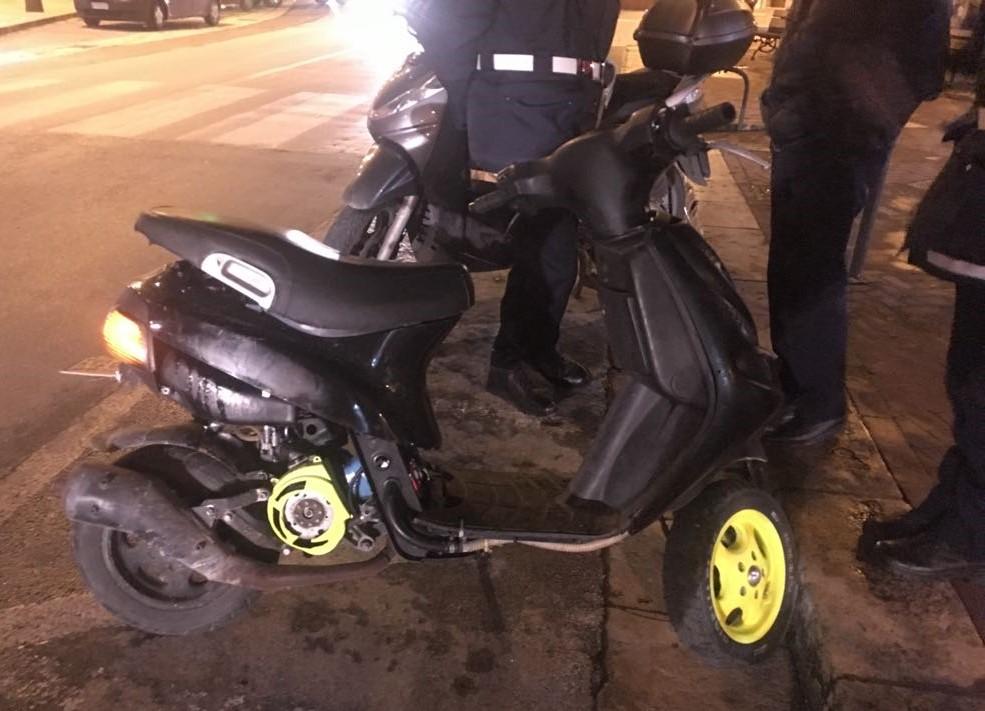Modica, scooter troppo rumorosi sequestrati dalla Polizia locale