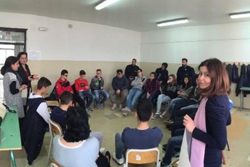 Augusta, incontro della Polizia con gli studenti degli istituti superiori