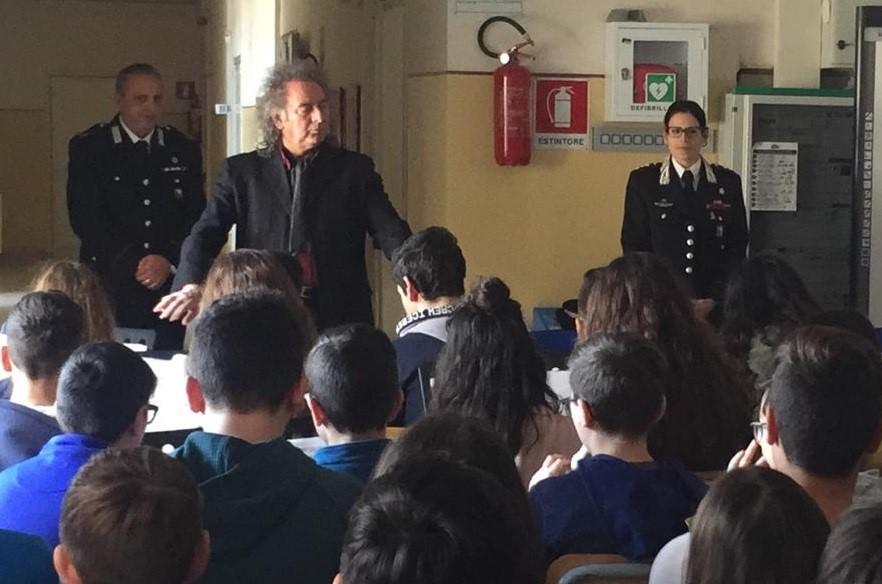 Studenti delle scuole medie di Giarratana e Monterosso a lezione di legalià