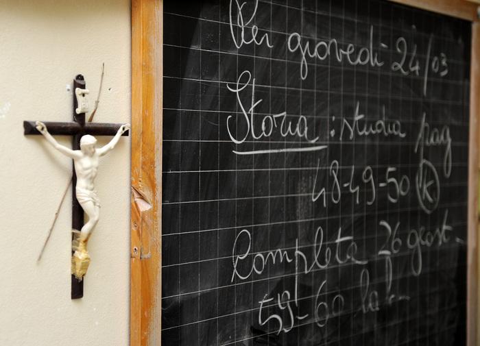 Palermo, divieto di pregare in una scuola elementare