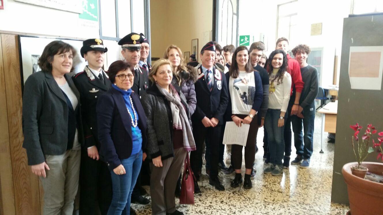 Sentinelle dell'Arte, visita dei carabinieri al Corbino e al Federico II di Siracusa