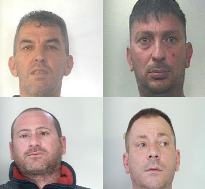 Colpo in un'abitazione di Gravina: catturati quattro ladri a Catania