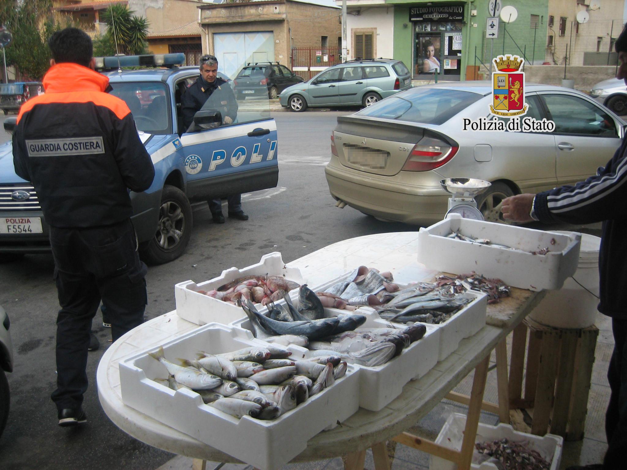 Catania, frutti di mare venduti in cattivo stato di conservazione