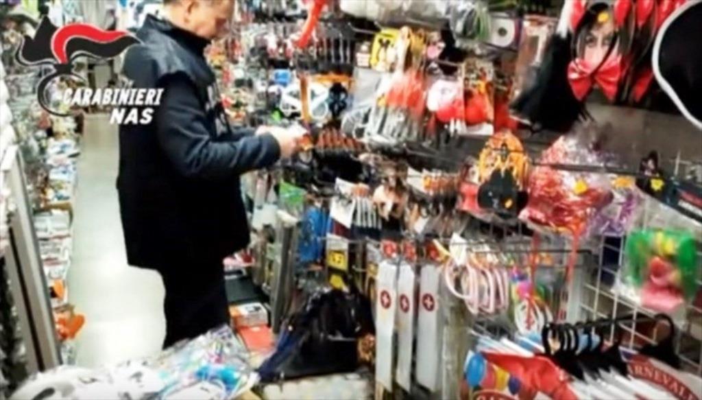 Prodotti non sicuri sequestrati dal Nas nell'hinterland Catanese